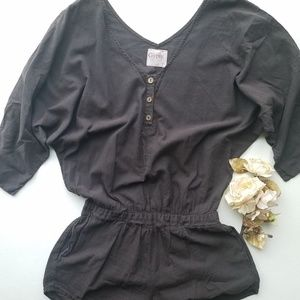 Gypsy 05 Brown Cotton Romper